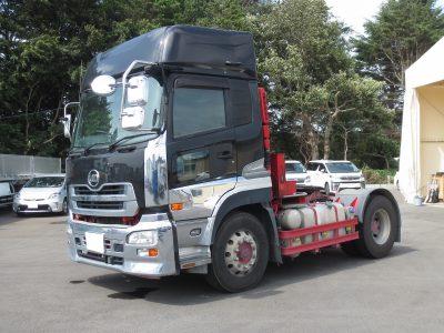 平成26年式 UDトラックスのトラクタです。