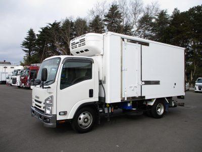 いすゞ 平成30年式 冷凍車 ワイドロング 格納ゲート 3t積載