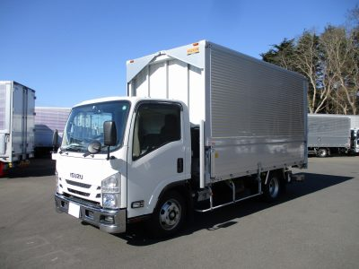 いすゞ 平成31年式 ウイング ワイドロング 格納ゲート 積載3.15t