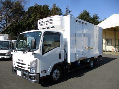 いすゞ 令和1年 冷凍車 ワイドロング 格納ゲート 3t積載