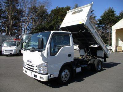 いすゞ 平成29年式 ダンプ 全低床 2t積載