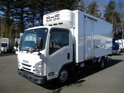いすゞ 平成30年式 冷凍車 標準ロング 格納ゲート 2t積載
