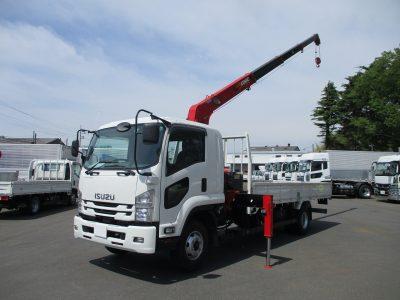 いすゞ 平成31年式 クレーン付 4段ラジコン 2.55t積載