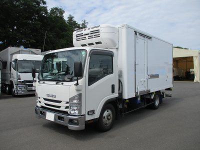 いすゞ 令和1年式 冷凍車 ワイドロング 格納ゲート 3t積載