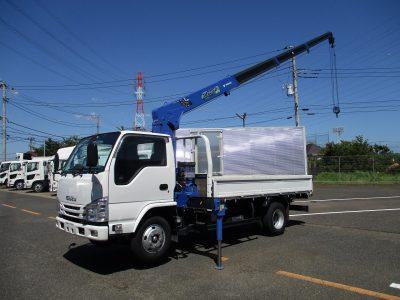 いすゞ 平成31年式 クレーン付 4段ラジコン 3t積載