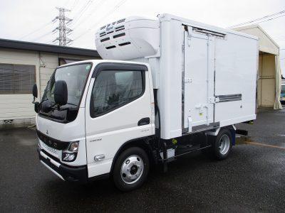 三菱 令和3年式 冷凍車 10尺 2t積載